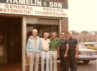 From Left to Right: Earnest, George, Moe, David, Michael